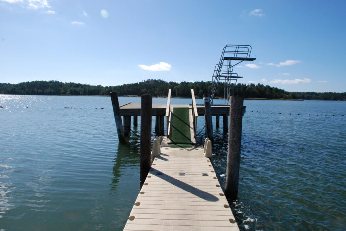 Monas simskola på Trosa havsbad